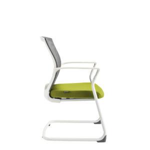 Jednací židle, BI 203, zelená - MERENS WHITE MEETING