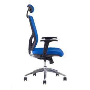 Kancelářská židle s podhlavníkem HALIA