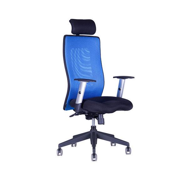 Kancelářská židle s podhlavníkem Calipso