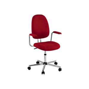 Otočná, výškově stavitelná židle Kovonax