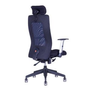 Kancelářská židle s podhlavníkem, 14A11, modrá - CALYPSO GRAND SP1