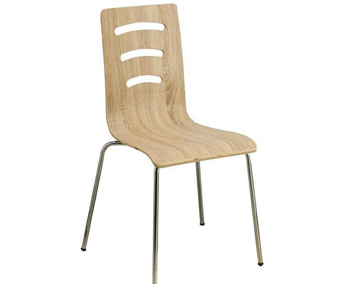 Židle MIRKA II chrom