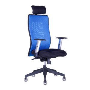 Kancelářská židle s podhlavníkem