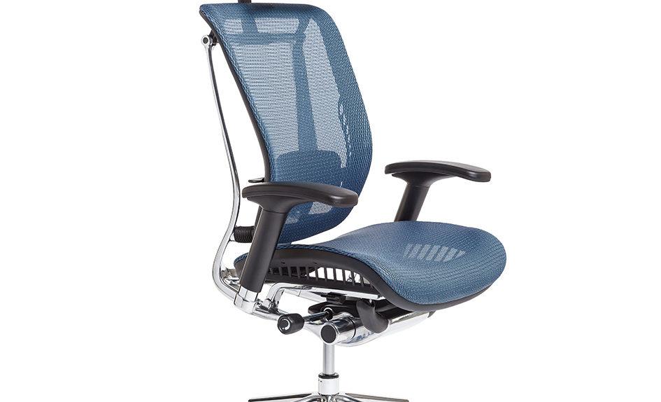 Kancelářská židle s podhlavníkem - LACERTA